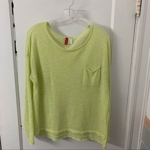 Divided by H&M semi sheer scoop neck sweater